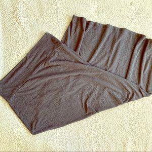 Charlotte Russe Gray Maxi Skirt